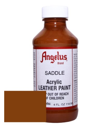 Angelus Acrylic Leather Paint-4oz.-Saddle