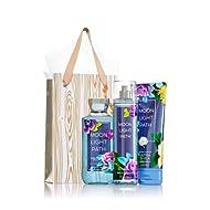 Bath & Body Works Moonlight Path Gold & Natural Gift Kit, Body Cream, Shower Gel & Fragrance Mist, - Full Sizes