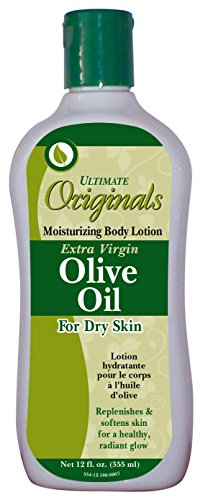 Ultimate Originals X-Virgin Olive Oil Body Lotion 12 Ounce (354ml) (3 Pack)
