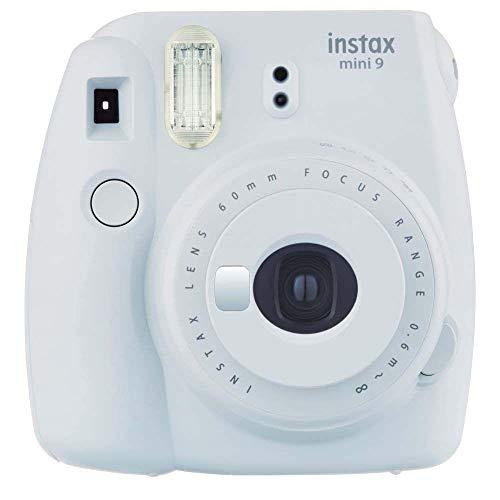 Fujifilm Cámara Instantánea Instax Mini 9, Color Blanco Humo