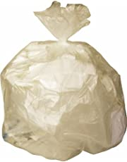 Medline NONHCR24LC High Density Liners, 24-Inch Length X 24-Inch Width, 10 Gallon Size, Clear (Pack of 1000)
