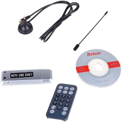Andoer® TDT Digital USB 2.0 DVB-T TV Dongle del Receptor del sintonizador del Registrador PC portátil