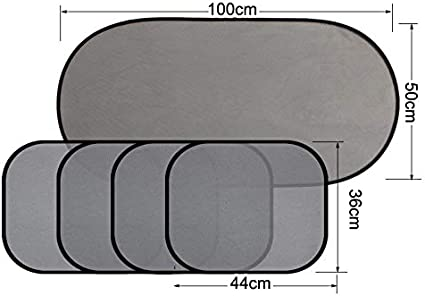 Benlasen Car Window Shades for Baby Premium Car Sun Shades Drivers Car Window Blinds Block UV Rays Fit For Most Vehicles