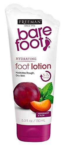 (Freeman Bare Foot Smooth + Nourished Skin, Peppermint & Plum 5.30 oz (Pack of 2))