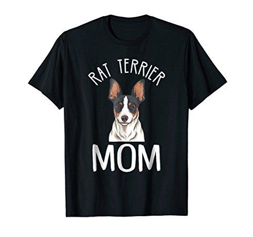 Rat Terrier Mom Shirt | Rat Terrier T-Shirt