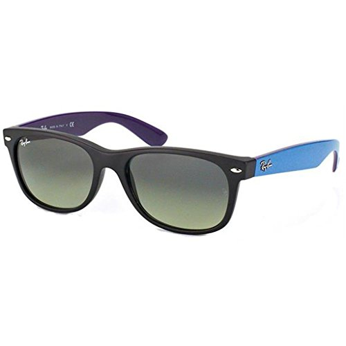 Wayfarer Unisex Sunglasses Matte Dark Ray New ban Gradient Gray Rb2132 Black gray tqnnpwSg