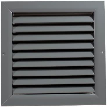 Grille de ventilation wdp blanc blanc aluminium