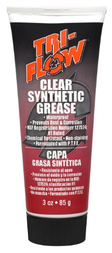Tri Flow TF23004 Clear Synthetic Grease 3 oz. Tube