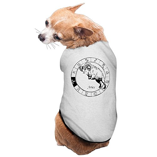 Aries Zodiac Sign Dog Coats Outfit One-piece