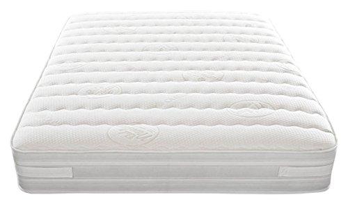 bedmonkey 2000Weiche Matratze, 180x 200x 26cm, weiß, Weiß, 156 x 210 x 140 cm