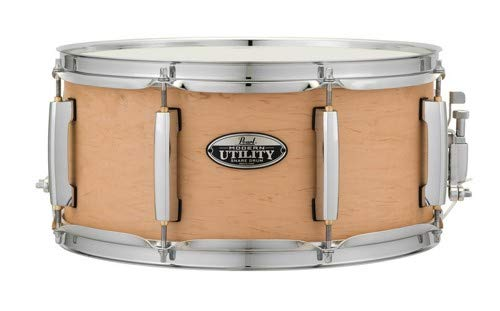 Pearl Snare Drum, Matte Natural (MUS1465M224) by Pearl