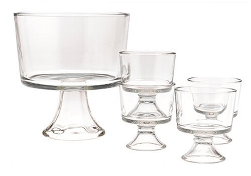 Anchor Hocking Presence 5-Piece Trifle Set