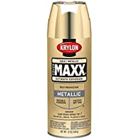 Krylon K09194000 COVERMAXX Spray Paint, Metallic Gold by Krylon