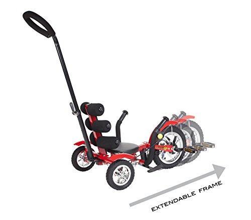 Mobo Cruiser Mega Mini Tricycle, Red