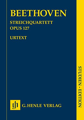Beethoven: String Quartet in Eb Major Op.127 (Study Score) (Instrument Music Eb Sheet)