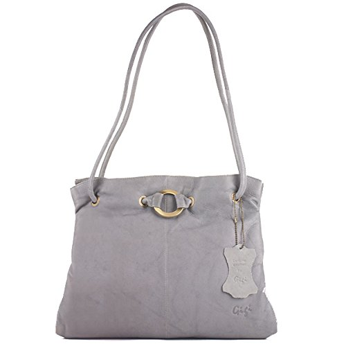 Othello Shoulder Grey 4323 Bag Gigi Leather q8EwTEg