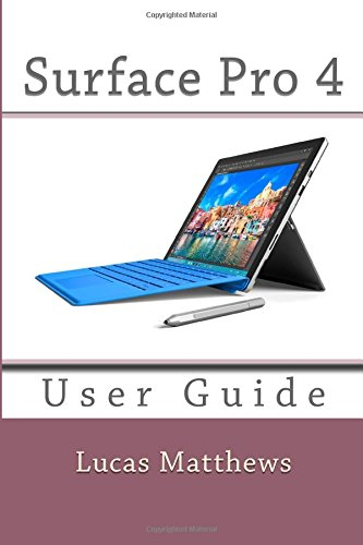 Download Surface Pro 4: User Guide ebook