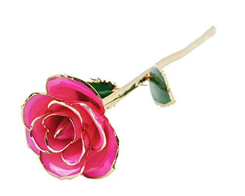 Pink Rose Gold Flower - 2