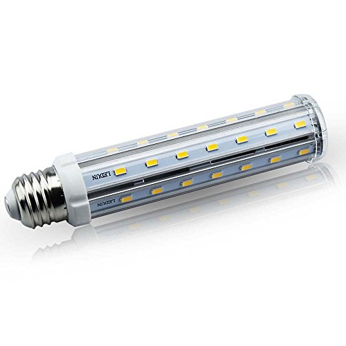 Bonlux Medium Screw E26 Base LED T10 Tubular Light Bulb 15w Daylight 6000k 360 Degree LED Corn Bulb (15 Watts)