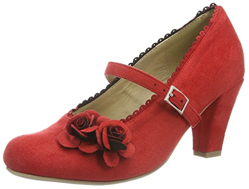 Hirschkogel by Andrea Conti Damen 3002724 Pumps, Rot (Rot 021), 42 EU