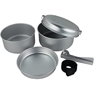 Yellowstone Aluminium 5 Piece Cook Set