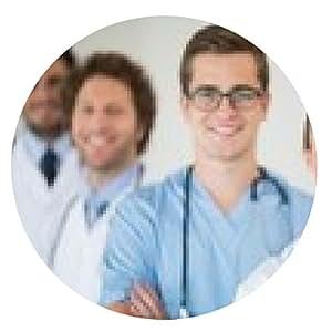 alfombrilla de ratón Sonriendo equipo médico - ronda - 20cm