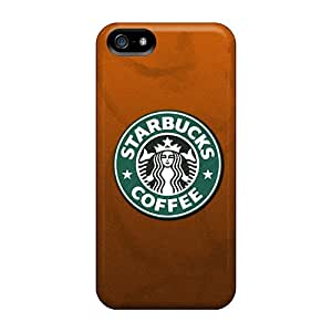 Iphone 5/5s YhO8523DRAS Customized Attractive Starbucks Coffee Image Bumper Cell-phone Hard Cover -JohnPrimeauMaurice