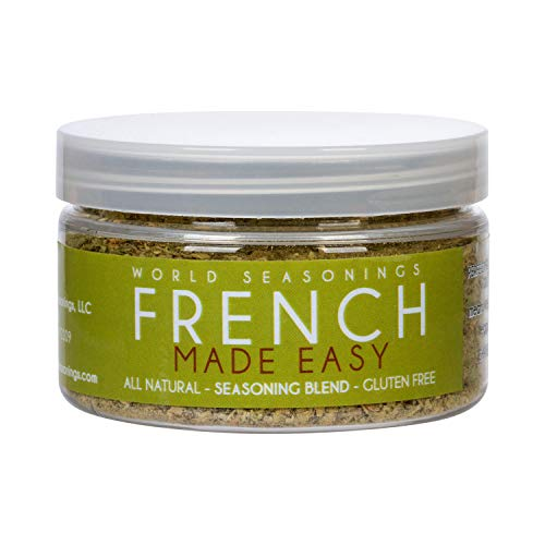 World Seasonings French Made Easy Healthy Gluten Free Spice Mix 2.8 Oz