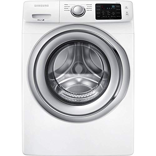 Samsung 4.5 Cu. Ft. 8-Cycle Front-Loading Washer White WF45N5300AW
