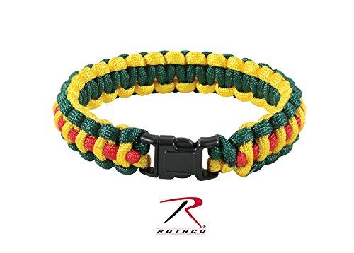 Rothco Paracord Bracelet, Vietnam Pattern, 8'' Size