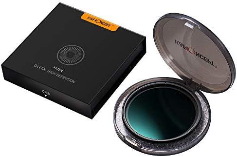 TOPTOO 72 mm Ultrafino Ajustable Densidad Neutra Variable ND ...