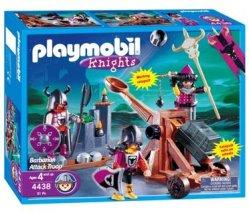 playmobil 4438 les chevaliers barbares catapulte - Playmobile Chevalier