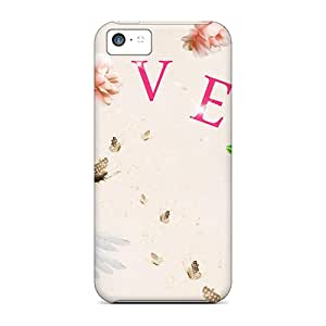 Premium Protection For Love Cases Covers For Iphone 5c- Retail Packaging