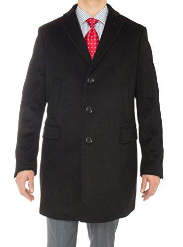 Luciano Natazzi Men's Cashmere Trench Coat Classic Modern...