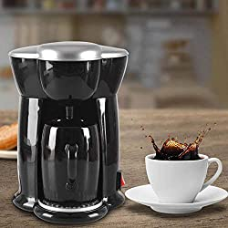 300W Multi-use Home Mini Single Cup Drip Coffee Makers household Restaurant Electric Automatic Espresso Coffee Machine EU Plug