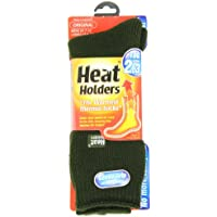 Heat Holders, Calcetines térmicos, Original de hombres, tallas zapato EE.UU.7 – 12, Verde bosque