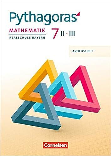 Pythagoras 7 II/III – Arbeitsheft
