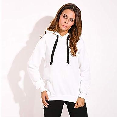 SUNNYME Femme Sweat-Shirts Robe /à Capuche Manches Longues Casual Mini Tunique Printemps Pull