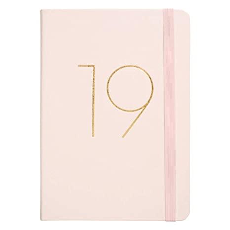 Amazon.com : kikki.K 2019 A5 Bonded Leather Daily Diary ...
