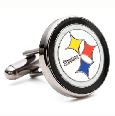 Pittsburgh Steelers NFL Executive Logo Cufflinks