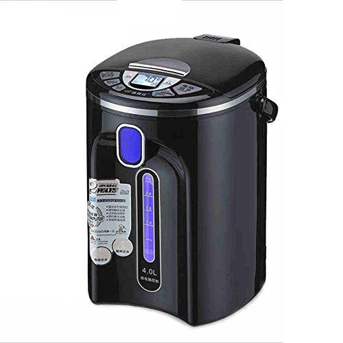 CAICOLORFUL Bouteille d'eau électrique 304 Isolation automatique en acier inoxydable Une bouilloire électrique Bouilloire Home 4L 750W Bouilloire électrique ( Couleur : Noir )