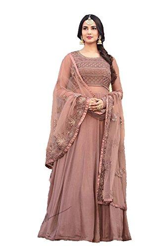 Indian/Pakistani Designer Embroidered Anarkali Style Wear Salwar Kameez Maisha 5507 ()