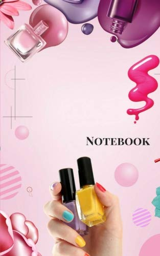 Notebook: Makeup Small Composition Book, Journal, Cute Notebooks, Cool Notebooks, School Books (Small 5 x 8), College Ruled Paper.