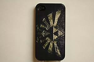 Big Triforce iPhone 4 / 4S Black Case - The Legend of Zelda
