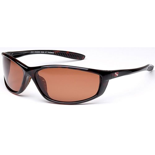 Dive Shades Polarized Sunglasses St. Thomas Tortoise Frame Style DS26-2602T