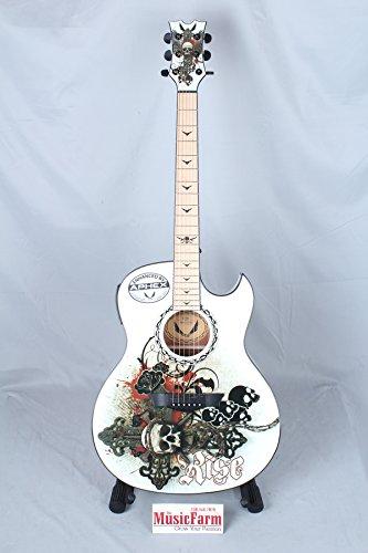 Dean EX RES Exhibition with Aphex Acoustic-Electric Guitar, Resurrection Graphic