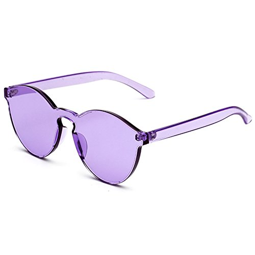 hibote soleil de unisexe Violet int¨¦gr¨¦es lunettes UV400 rFZqaxrw