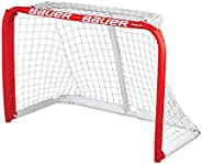 Bauer Mini Steel Goal, 3 x 2-Feet, Red