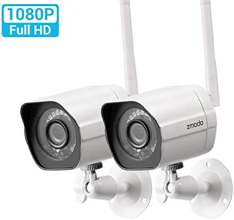 Zmodo Outdoor Security Camera Wireless 2 Pack
