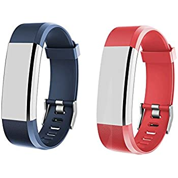 Heckia Fitness Tracker Bands for ID115 HR Plus, Adjustable Replacement Straps for ID115 Plus, Not for ID115/ID115U, Slim Smart Wristbands, ...